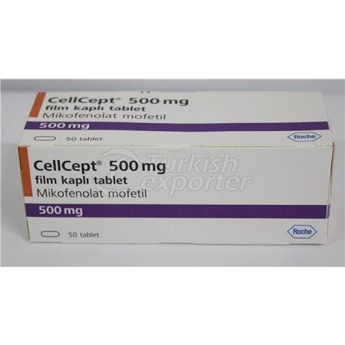 CELLCEPT 500 MG 50 TABLETS