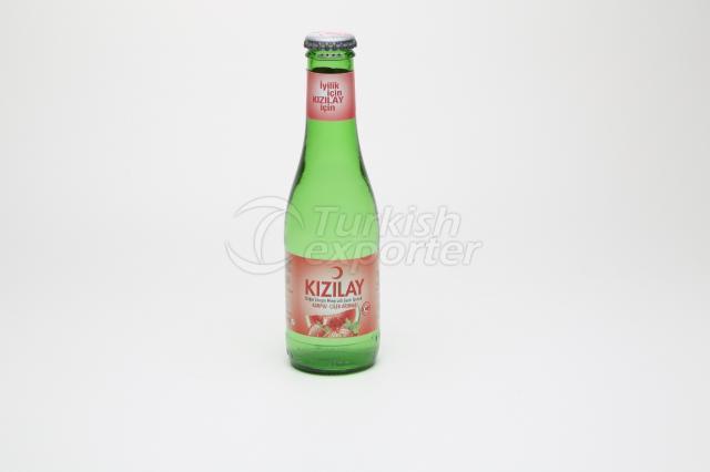 Eau minérale aromatisée à la fraise et melon d'eau 20 cl