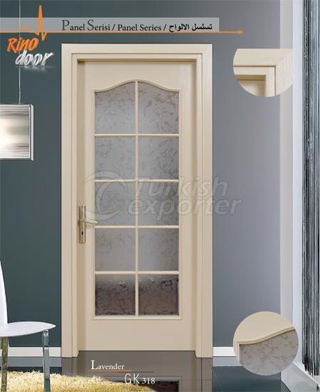 Door Panel - Lavender