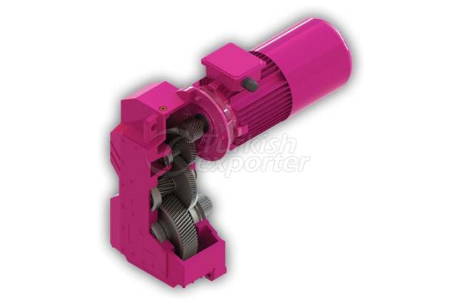Hoisting gearbox