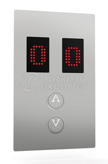 Botón de piso IAL 014D