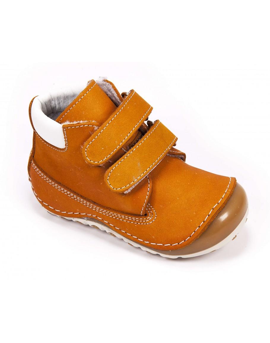 Deri İlk Adım Ayakkabısı - Kahverengi