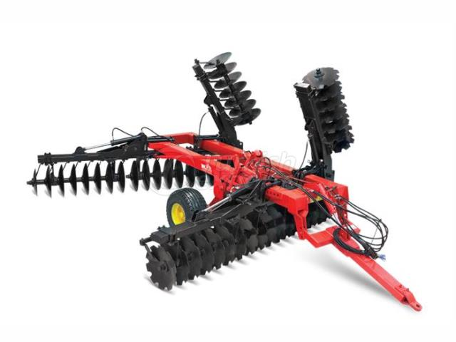 Foldable V TYpe Offset Disc Harrow FTOD