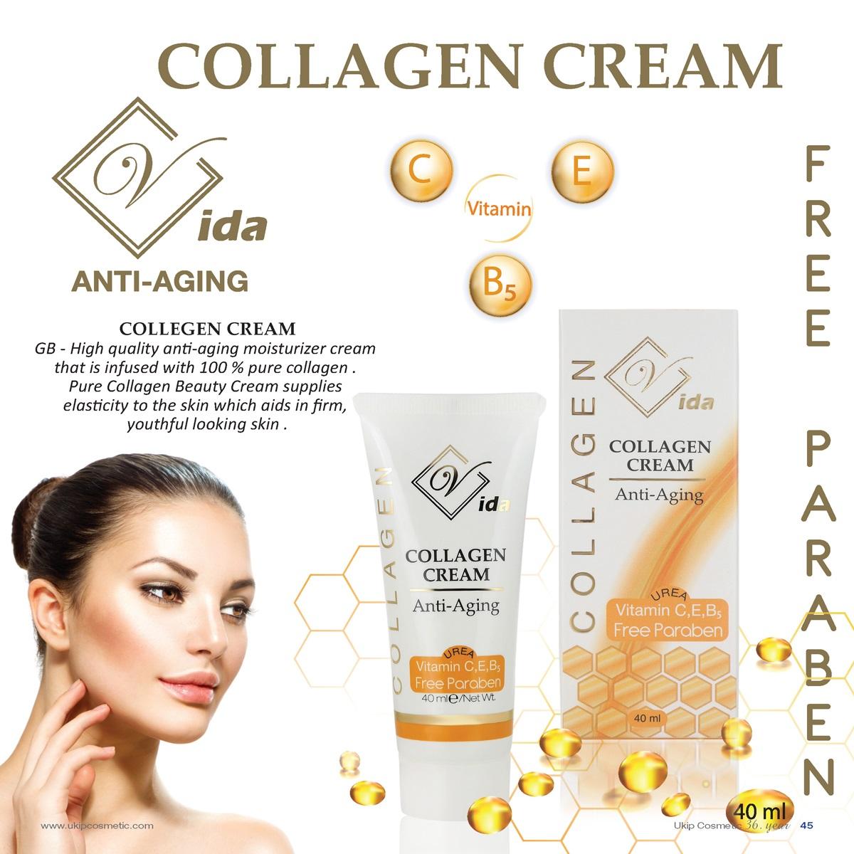 Vida Anti-Aging Collagen Cream
