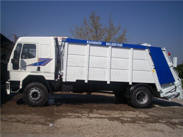 Garbage compactor- Çöp kasası