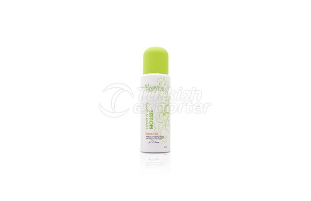 Hand and Body Mousse- Green Tea