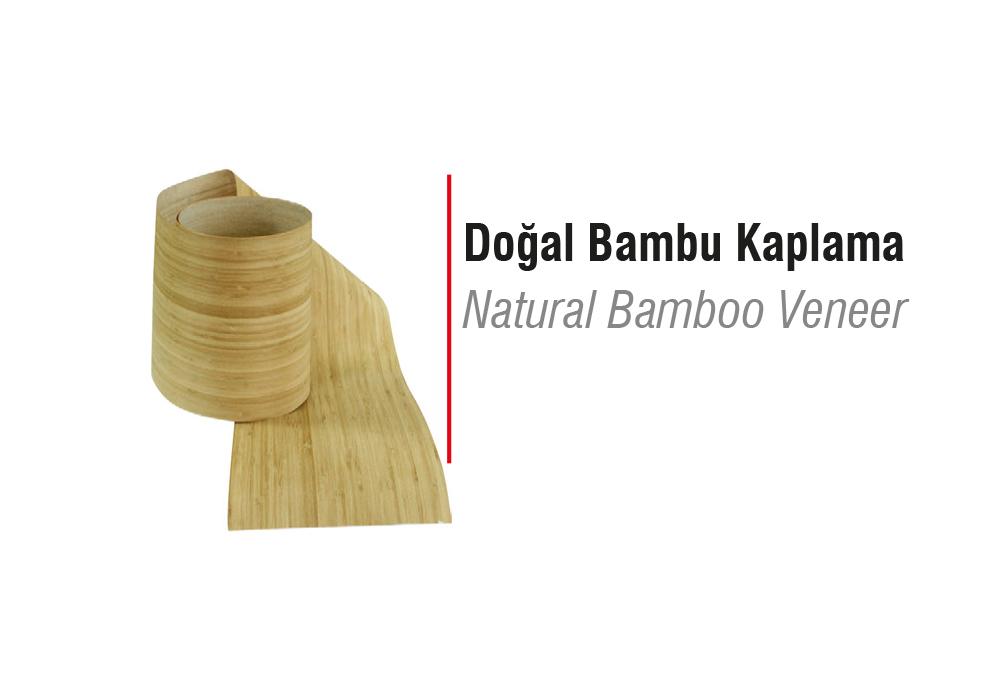 Doğal Bambu Kaplama