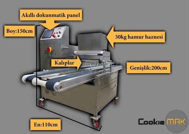 Kuru Pasta ve Kurabiye Makinalari