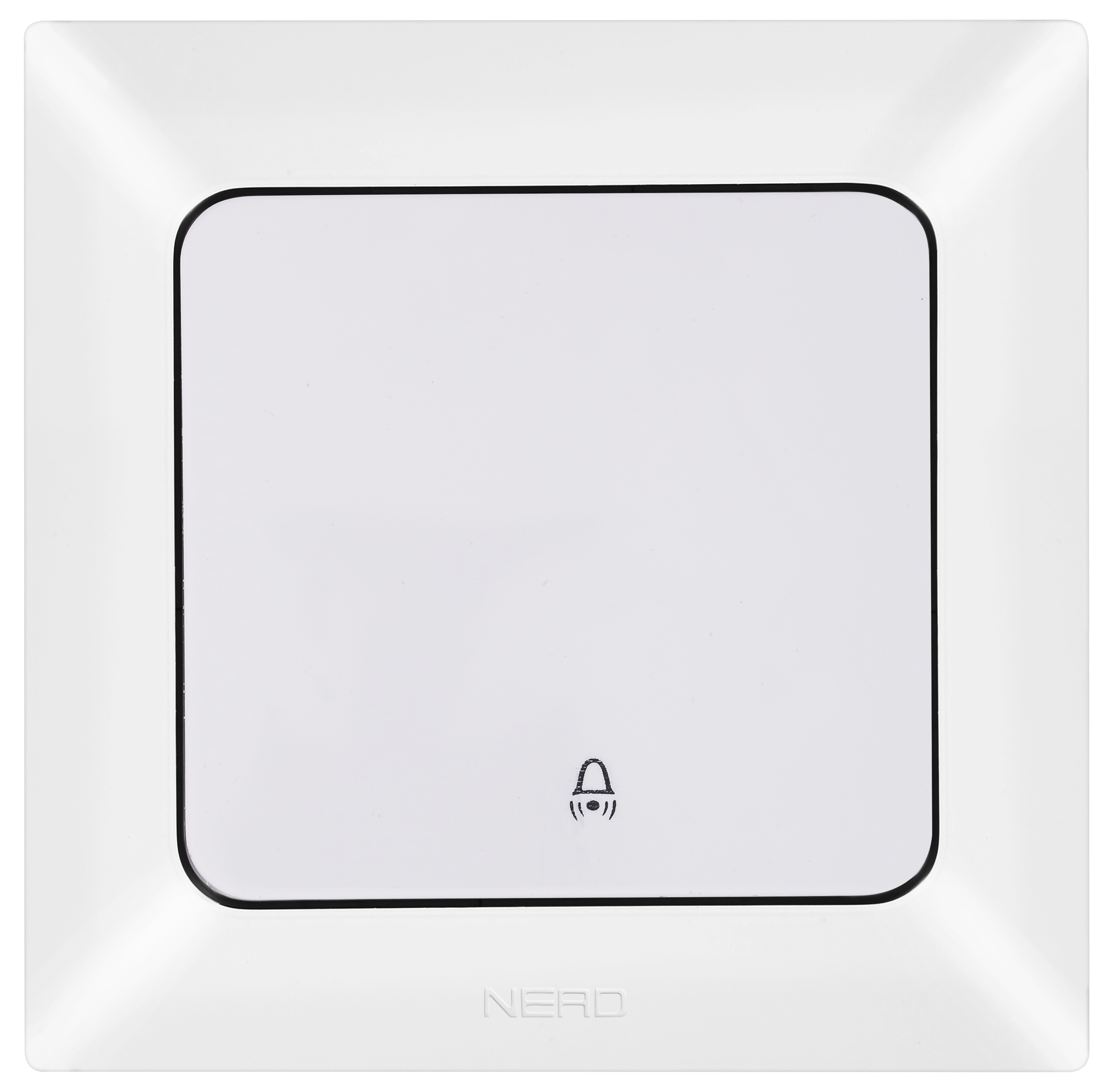 Push Button With Bell Symbol / 93-110-12