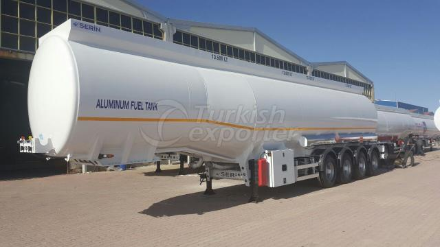 54.000 lt Aluminum Fuel Tank Semi