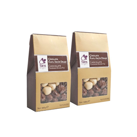 Chocolate Covered Dried Fig
