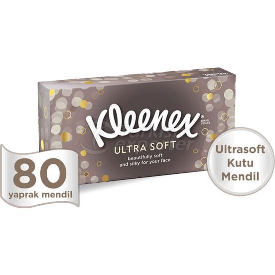 Kleenex Ultrasoft Box Tissue 80 pcs
