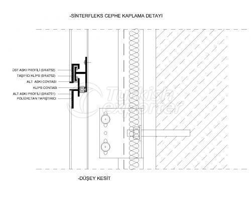 Seramik Cephe & Kompakt Profiller-Sistem Detaylari