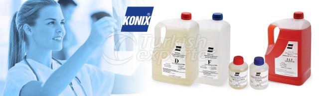 Produits chimiques dentaires de rayon X