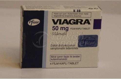 VIAGRA 50 MG AND 100 MG 4 TABLETS