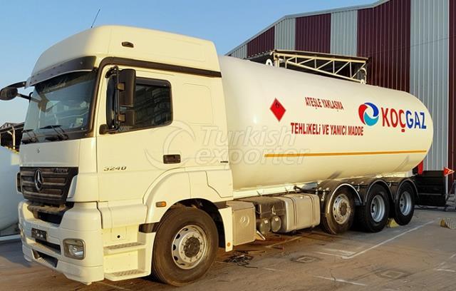 LPG Kamyonüstü Transport
