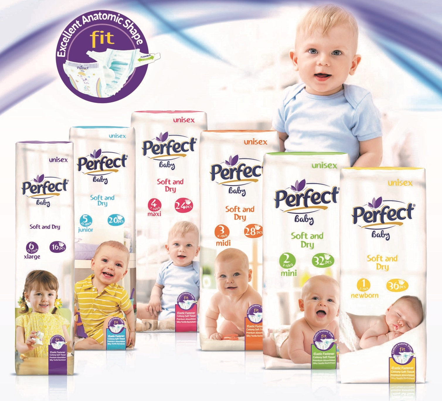 Perfect Baby Eco-Pack Baby Diaper