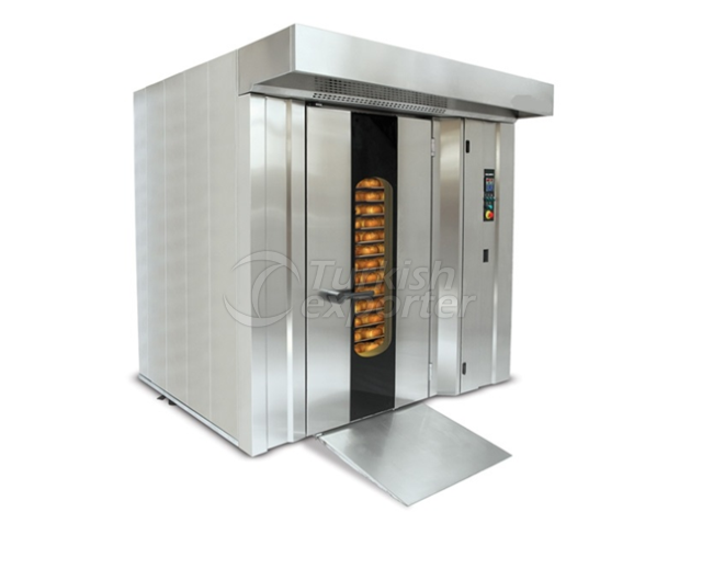 Rotary Rack Oven – Front Burner