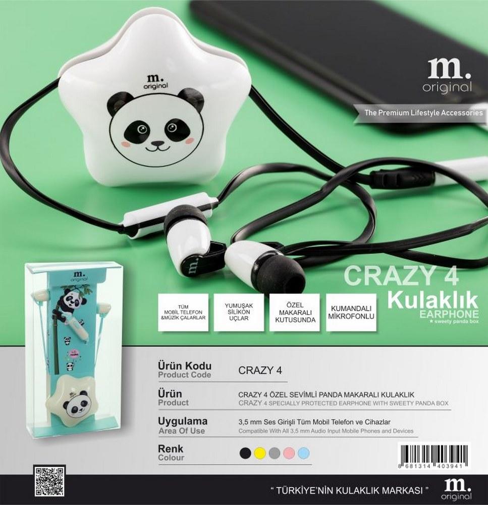 Crazy 4 Headphones