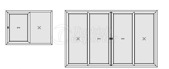 Sürme Kapı ve Pencere Profilleri