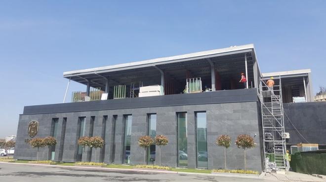 Structural Steel Buildings Acibadem Project