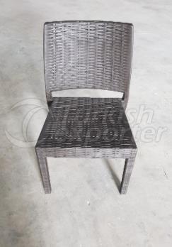 Rattan Armless Chair