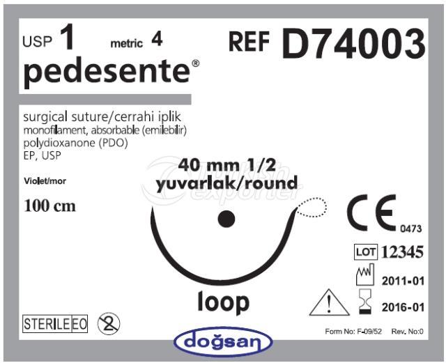 خيوط قابلة للامتصاص D74003