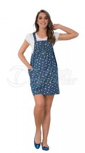 Daisy Flower Jeans Mini Jila