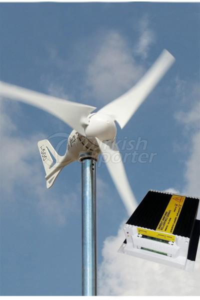 500w Wind Turbine Charger Set