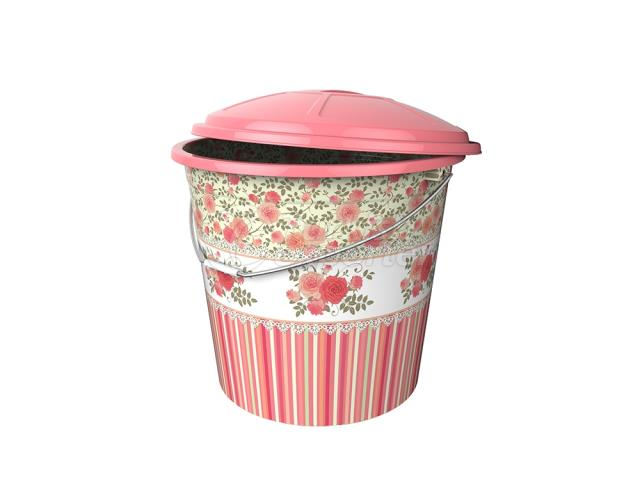 Lux Decorated Bucket