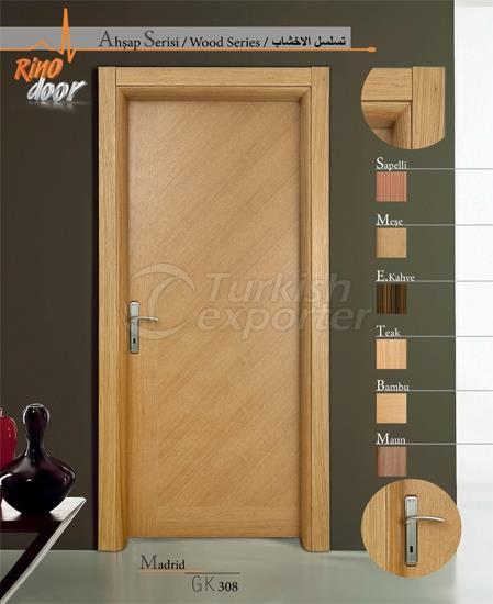 Porta de madeira - Madrid