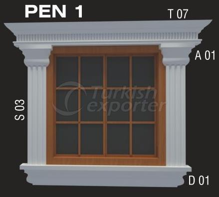 Modèles de fenêtre