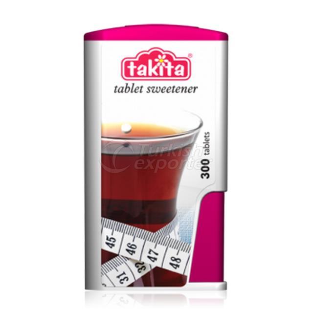 Takita Tableta Edulcorante con Sacarina 300 Tabletas