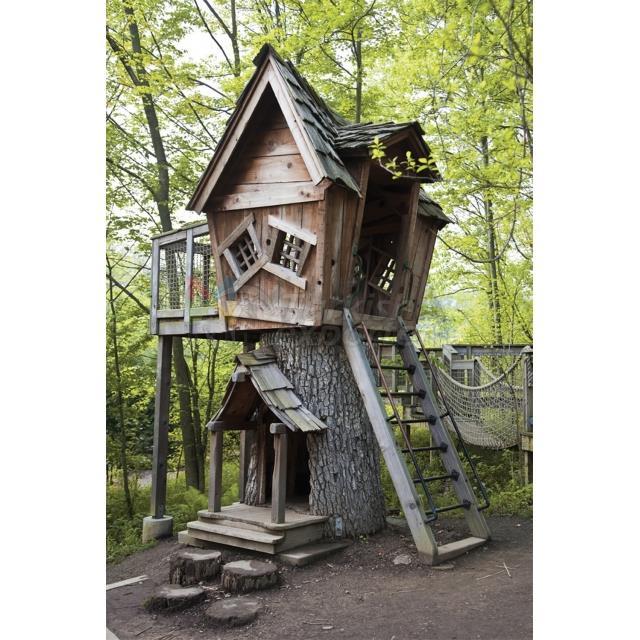 Casa de recreio de madeira