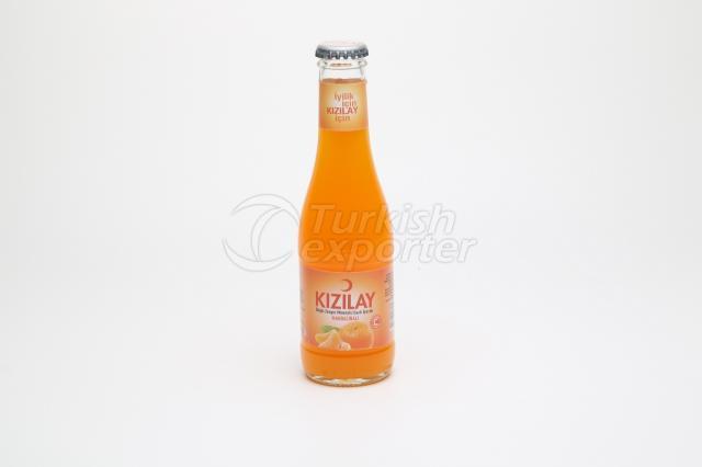 Água mineral com sabor de mandarim 20 cl