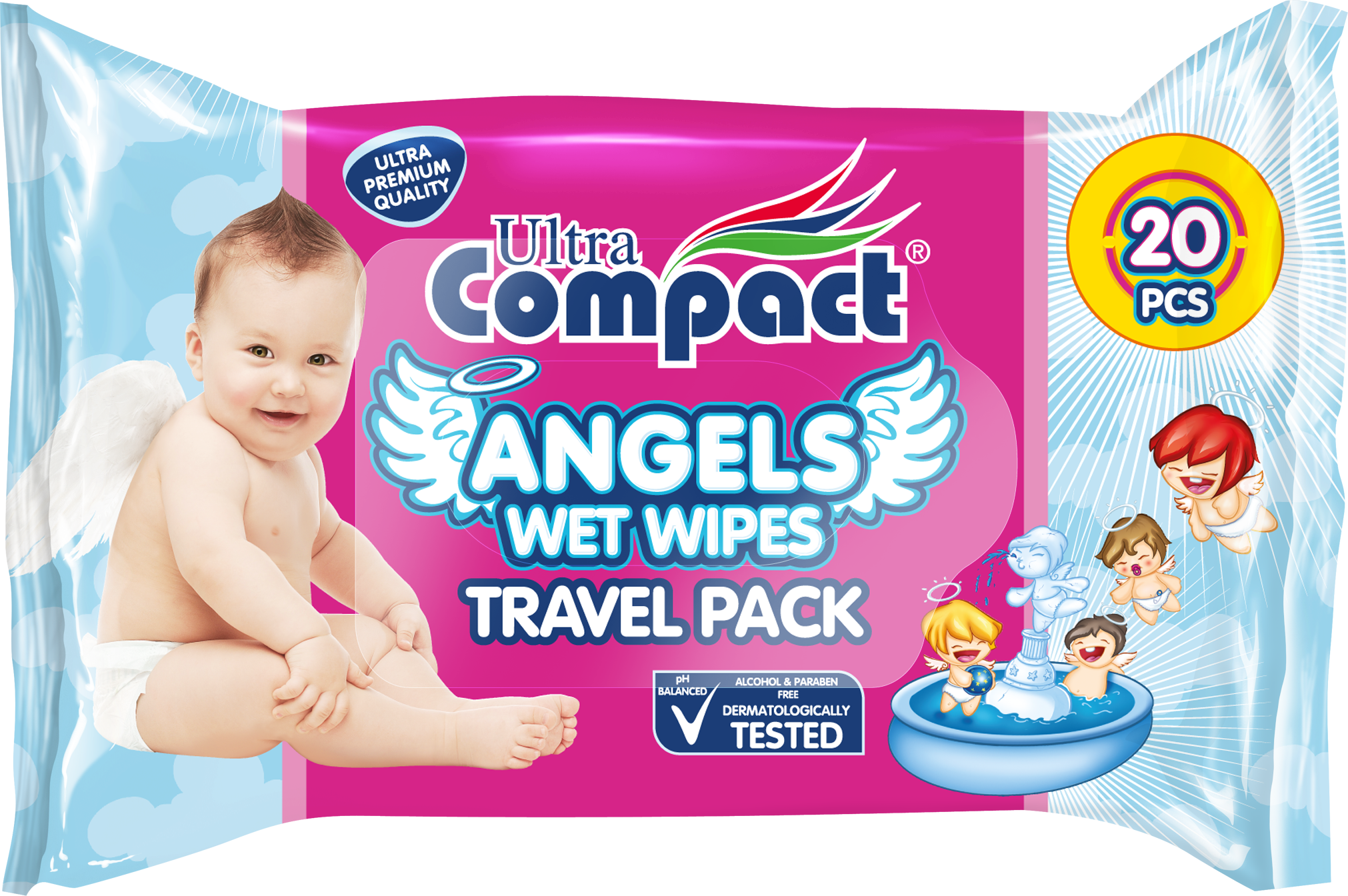 WET WIPES TRAVEL PACK