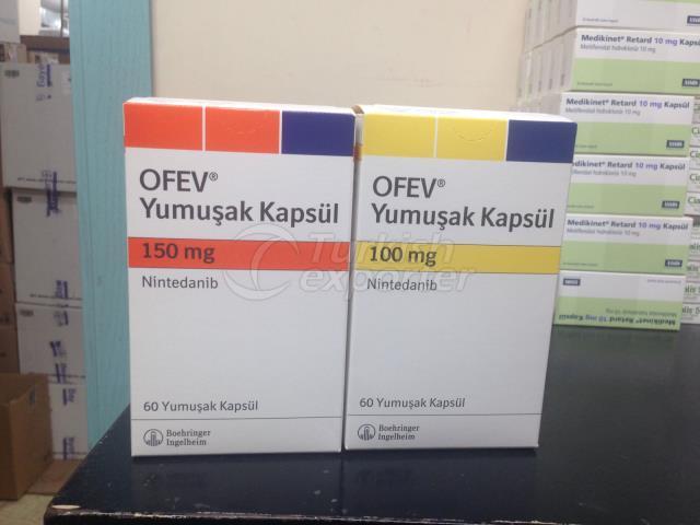 Ofev 150 mg cápsulas blandas