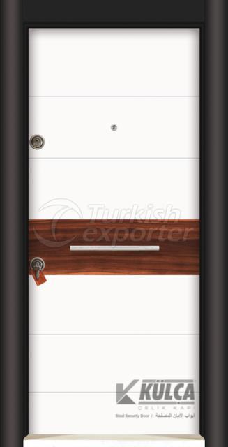 D-2030 (PVC STEEL DOOR )