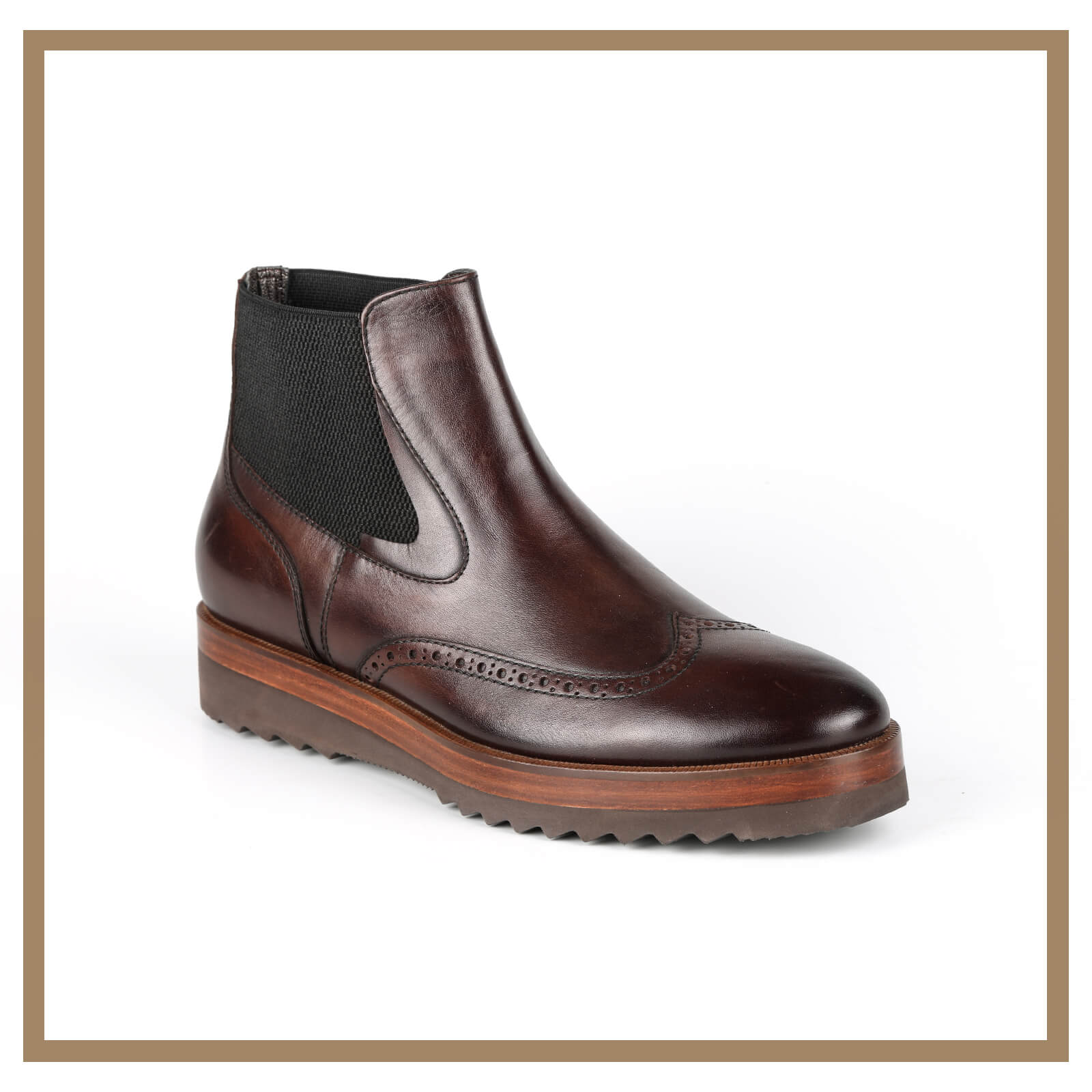 Leather Man Boots 009