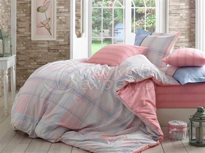 Ensemble de linge de lit Carmela Pink -Poplin Single Bed (8698499108882)