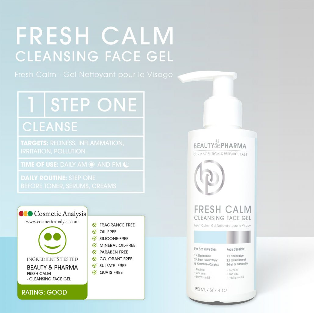 FRESH CALM CLEANSING FACE GEL