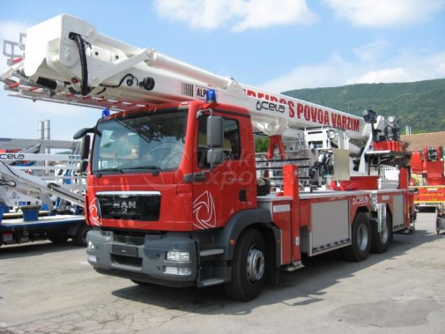Véhicules de lutte contre l'incendie de Snorkel