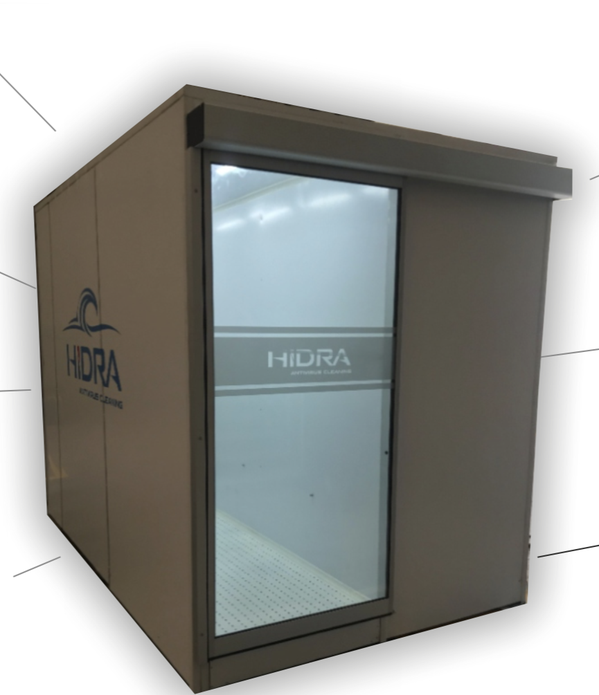 disinfection cabin