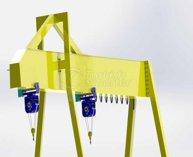 Single Beam Monorail Crane