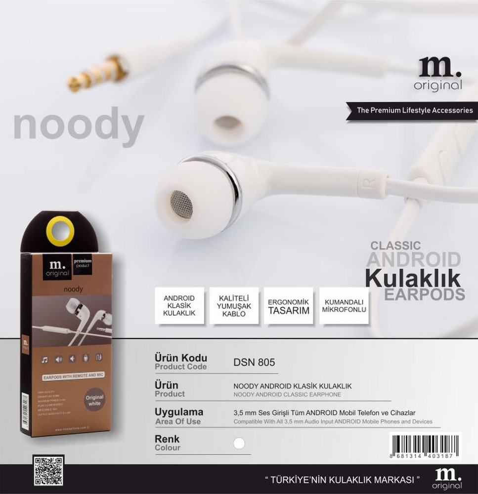 Dsn 805 Noody Classic Headset