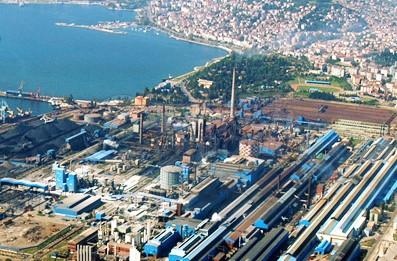 Motorway Project outside of ISDEMIR Steel Production Plant