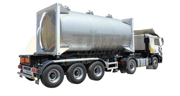 Container Type Food Transportation Tank