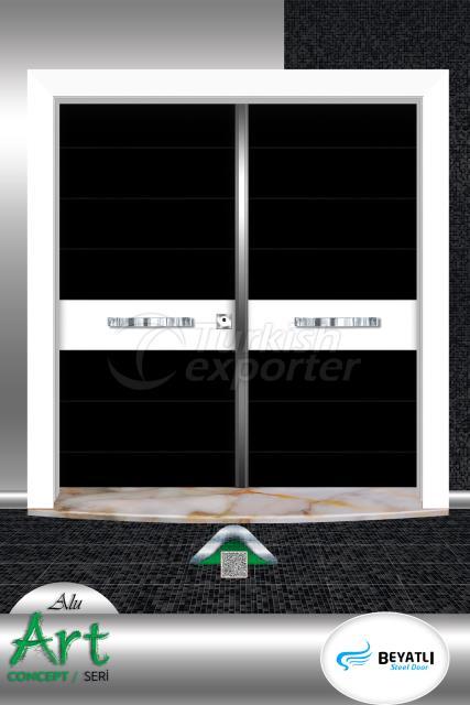 Çelik Kapı - ALU 103