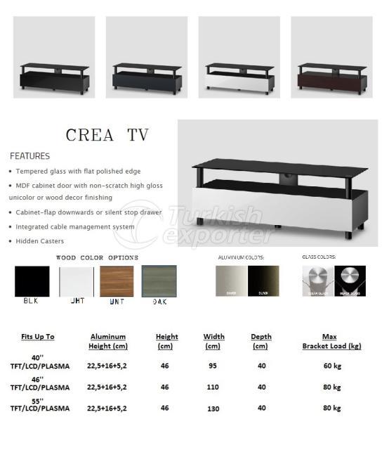 CREA TV Units