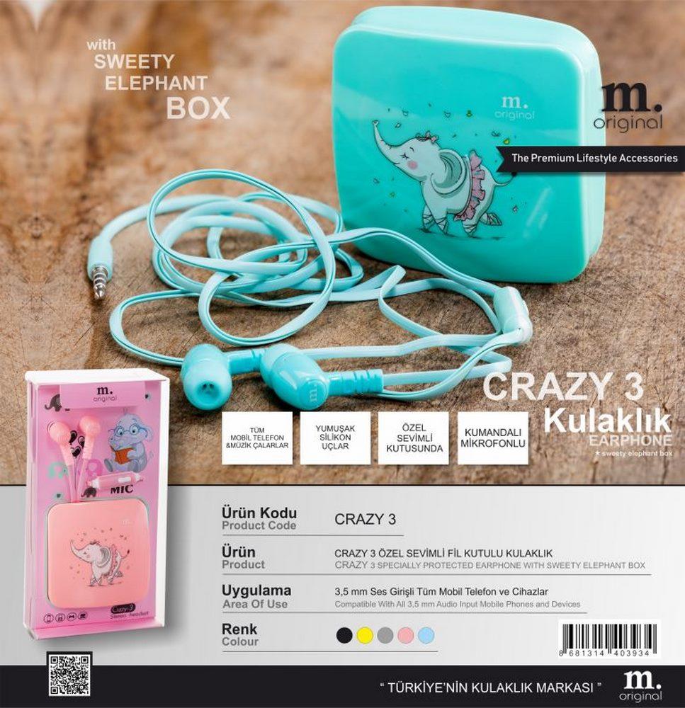 Crazy 3 Headphones